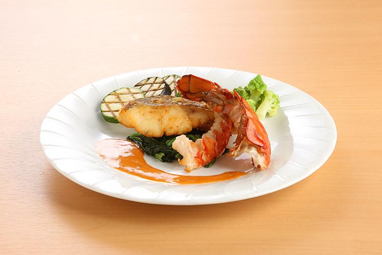 真鯛とオマール海老のアソート
